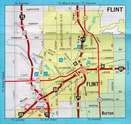 map of flint michigan multimag inc